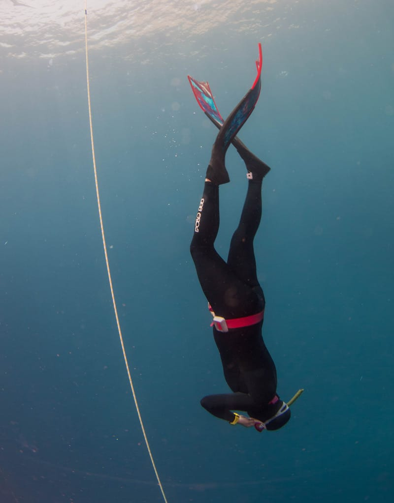 Catherine Crossland Freediving